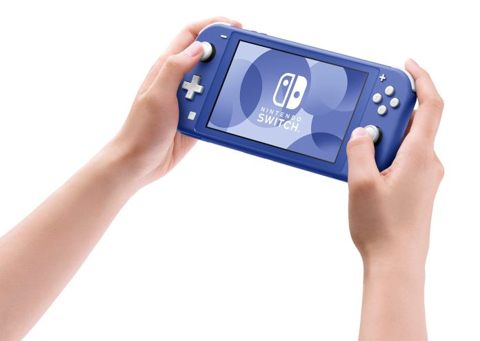 Nintendo Switch Lite - New Blue Edition Images