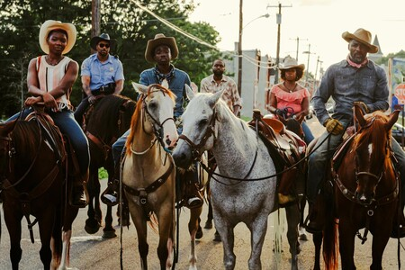Asphalt Cowboy Scene