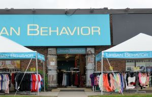These used tents sold to Urban Behavior by ASAP Tent and Party Rentals have clean elegant design.