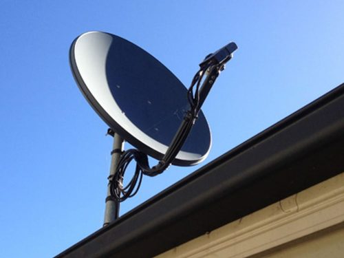 small resolution of c band k band satellite dish installation gold coast