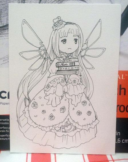 Chibi Odelia from Atelier Ayesha.