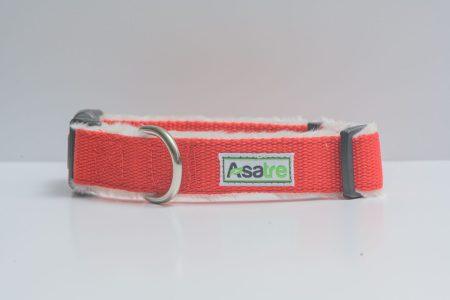 Hemp Red Dog Collar