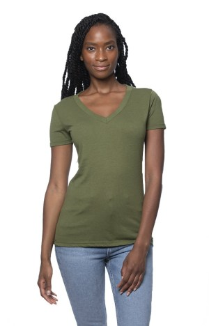 Hemp Cotton V-neck T-shirt