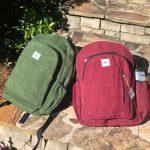 Hemp Himalyan Green Backpack