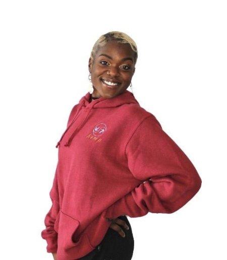 Hemp and Organic Cotton Burgundy Sweatshirt