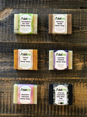 Hemp Soap Bundle 6 Pack