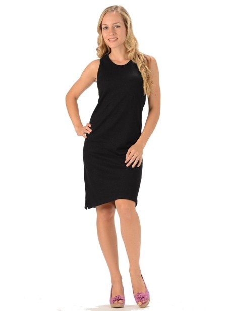 Hemp Casual Jersey Dress