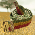 Hemp Red Yellow Green Belt