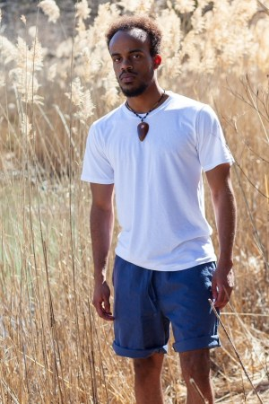 Hemp and Organic Cotton White T-Shirt