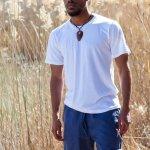 Hemp and Organic Cotton White T-Shirt