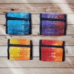 Men's Bi-fold Hemp Tie Dye Wallet