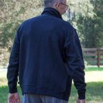 Hemp and Organic Cotton Fleece Jacket