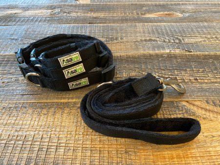 Hemp Dog Collar and Leash by Asatre