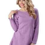 Women's Hemp Flowing Long Sleeve Shirt