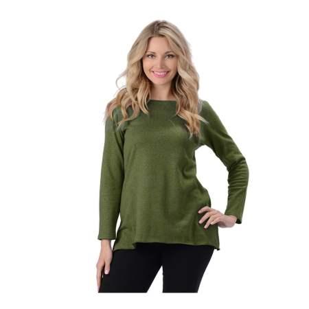 Hemp and Organic Cotton Fluid Shirt