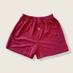 Hemp and Organic Cotton Boxers by Asatre - Burgundy