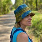 Hemp Tie Dye Bucket Hat