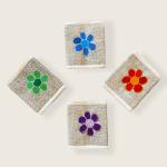 Hemp Bi-fold Wallet - Flower