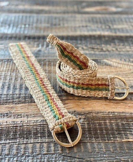 Hemp Handmade Rasta Stripe