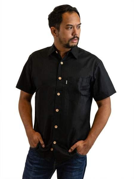 Asatre Hemp Button Up Shirt