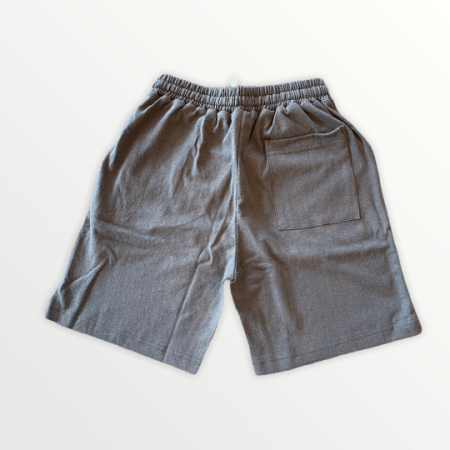 Hemp and Organic Cotton Athletic Shorts - Gray