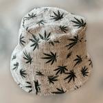 Hemp Leaf Bucket Hat from Nepal