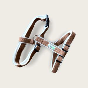 Hemp Dog Harness - Brown