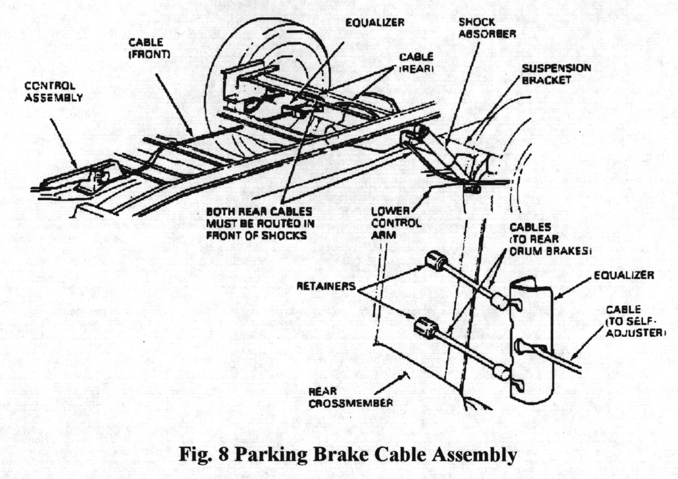 OO846 DIAGRAM 93 Ford Ranger Rear Brakes Diagram OO846