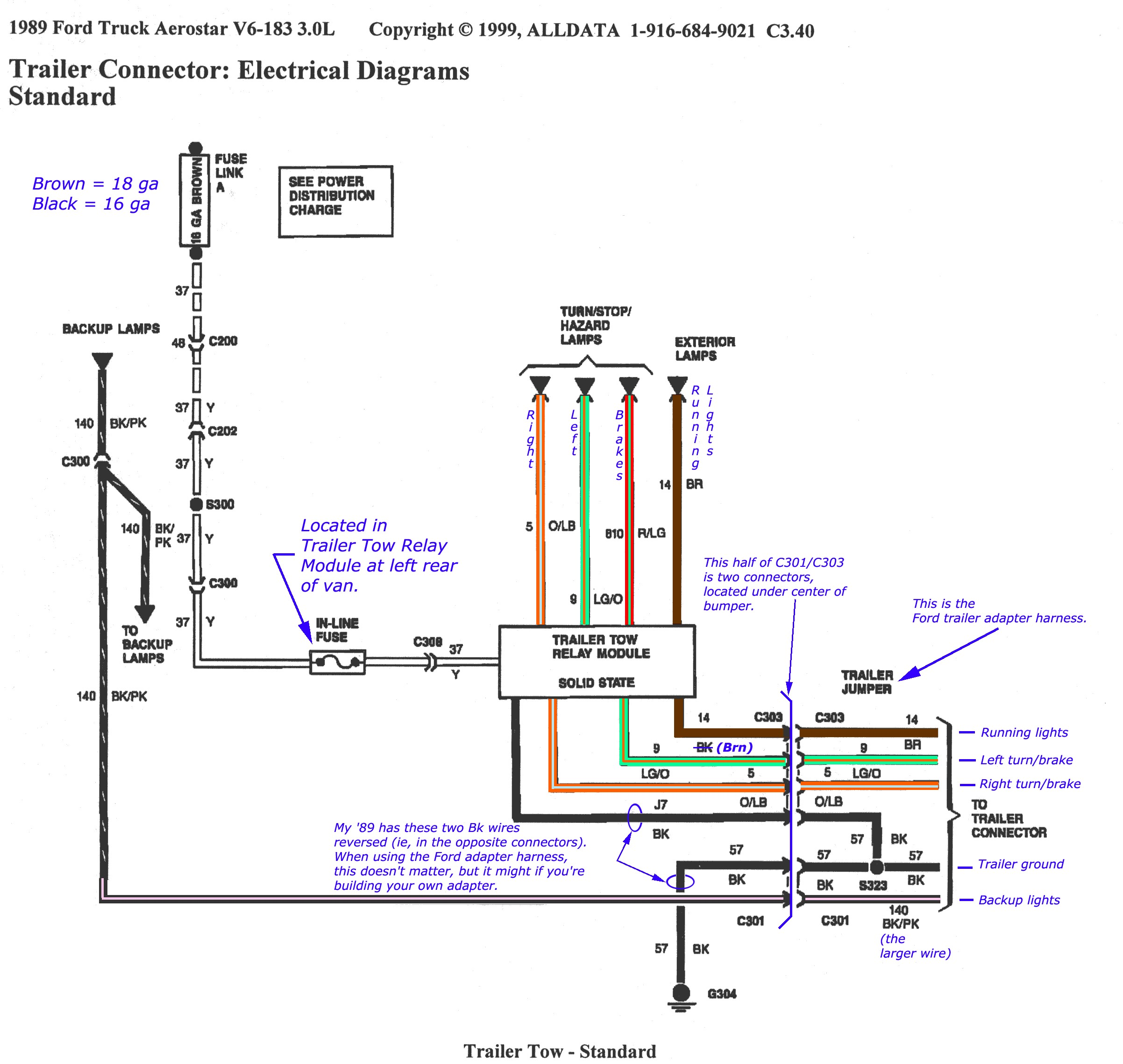 TrailerWiring01b ford f350 trailer wiring diagram efcaviation com 1999 ford f350 wiring diagram at edmiracle.co