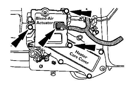 2001 ford taurus exhaust system diagram 12 volt fan relay wiring 2003 heater core great installation of one small goof on removal big problem car rh taurusclub com 2004 parts