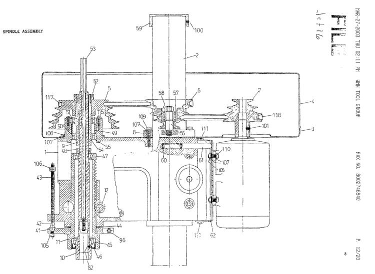 Jet Equipment: Jet-16 Drilling & Milling Machine manual