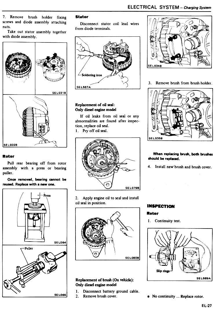Datsun Workshop Manual 1982: Page 20-027