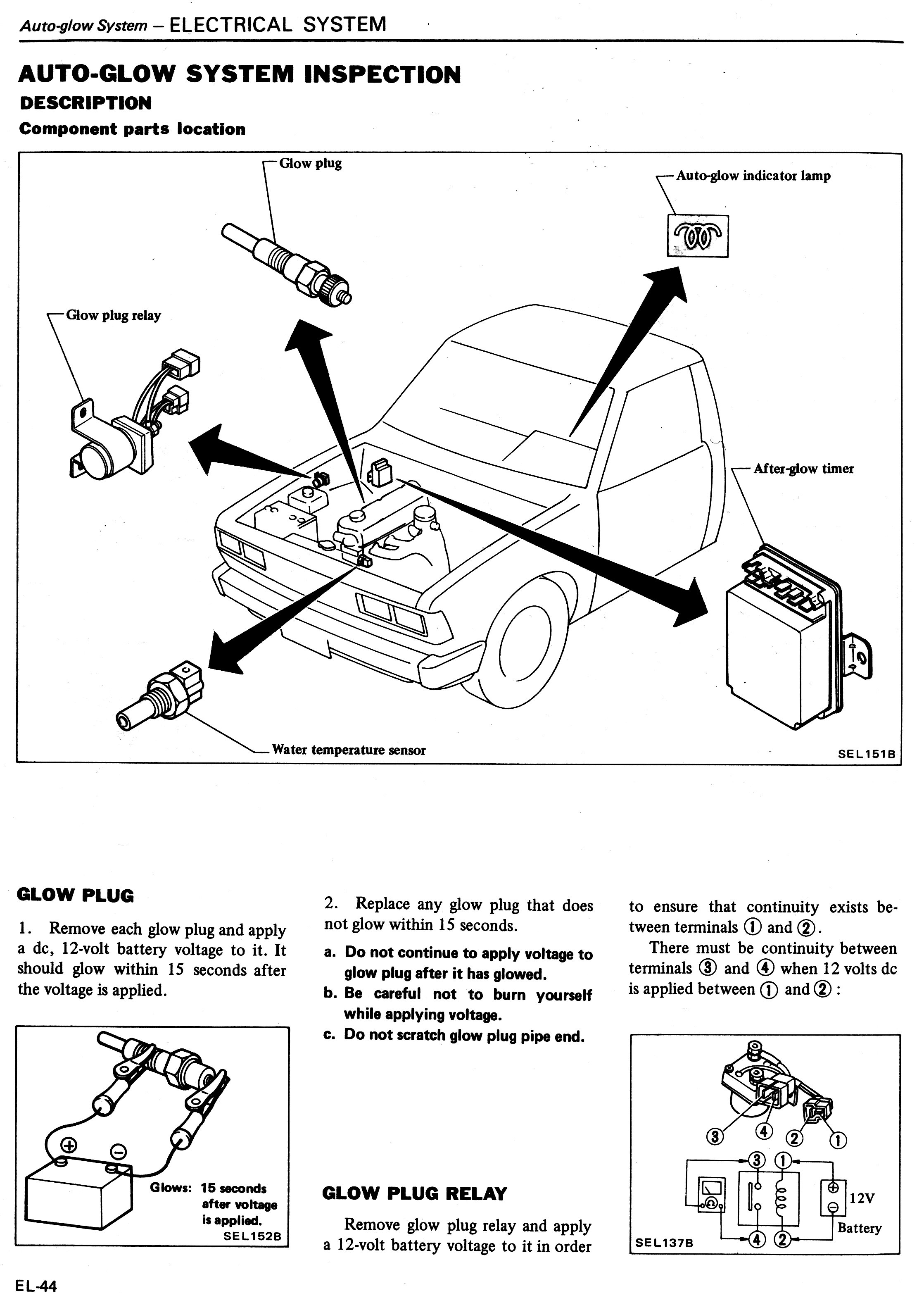 Datsun Workshop Manual 1982: Page 20-044