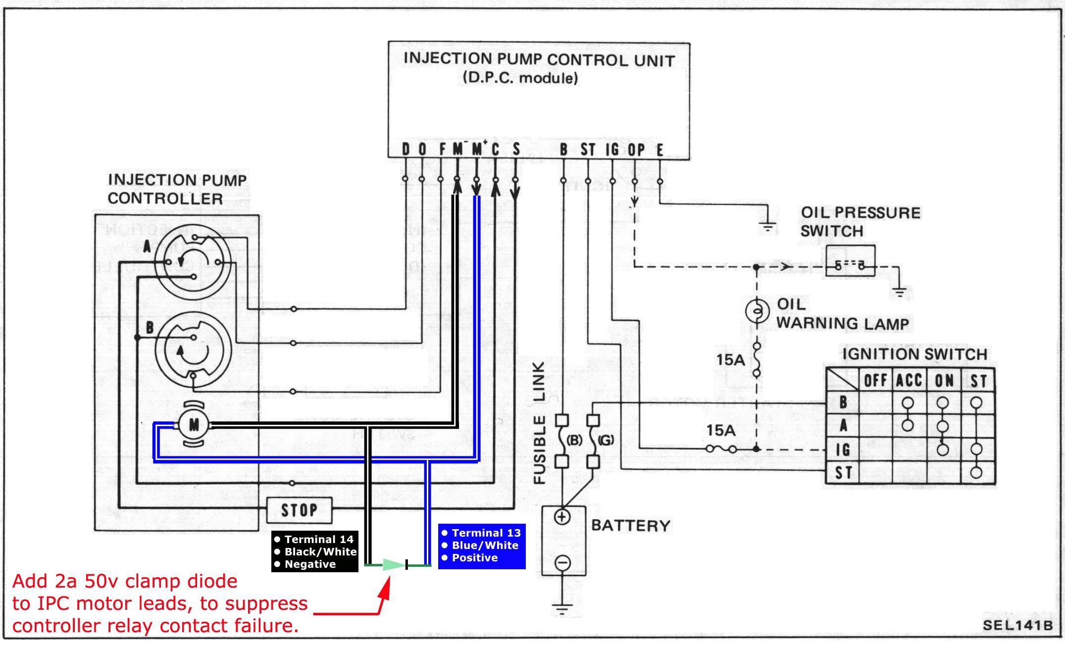1984 nissan pickup wiring diagram