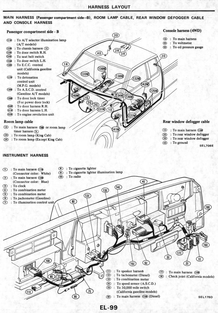 Datsun Workshop Manual 1984: Page 20-099