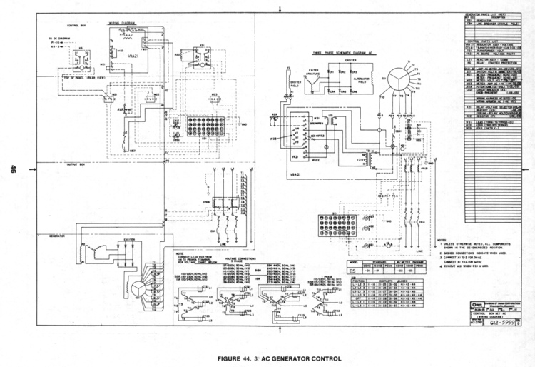 Onan Service Manual for 20Kw ES (Generator & Controls