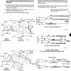 Wiring Diagram Onan Genset For 2 Lights And Switches Service Manual Bf Bfa Bga Nh 900 0337 Page 48