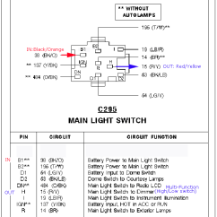 2001 Ford F250 Headlight Switch Wiring Diagram Autotransformer 2000 F 250 Schematic Aspire Parking Headlights Think
