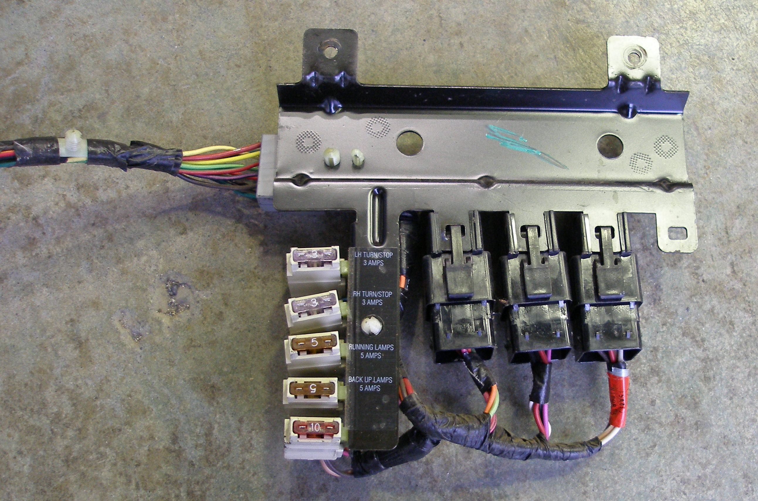 tow wiring diagram for dol motor starter trailer package and questions ford