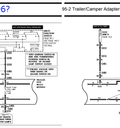 trailer tow package and trailer wiring questions ford truck ford f150 tow package wiring diagram ford tow package wiring diagram [ 1691 x 676 Pixel ]