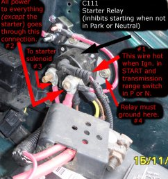 help can t get aerostar to start page 2 ford truck 1990 cadillac brougham fuse box [ 1433 x 1568 Pixel ]