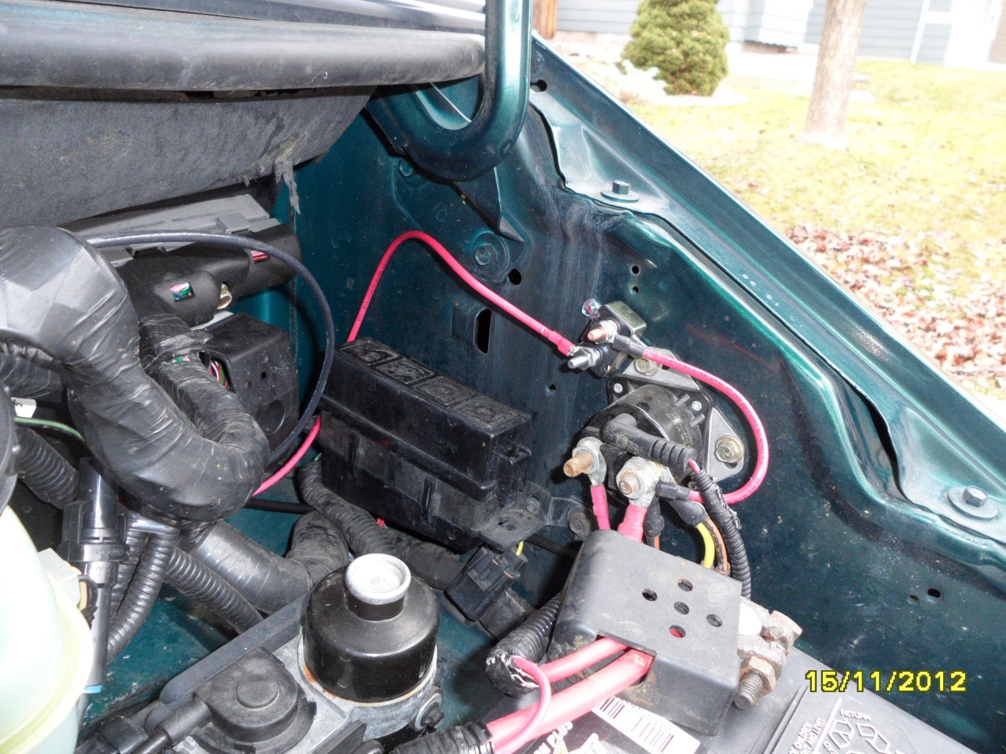hight resolution of 93 f150 under hood relay location get free image about