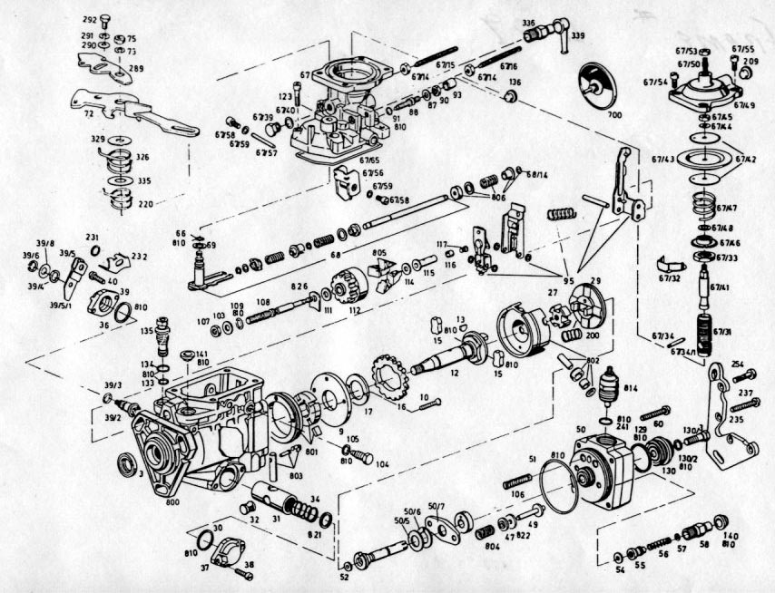 Bosch Ve Injection Pump Diagram, Bosch, Free Engine Image