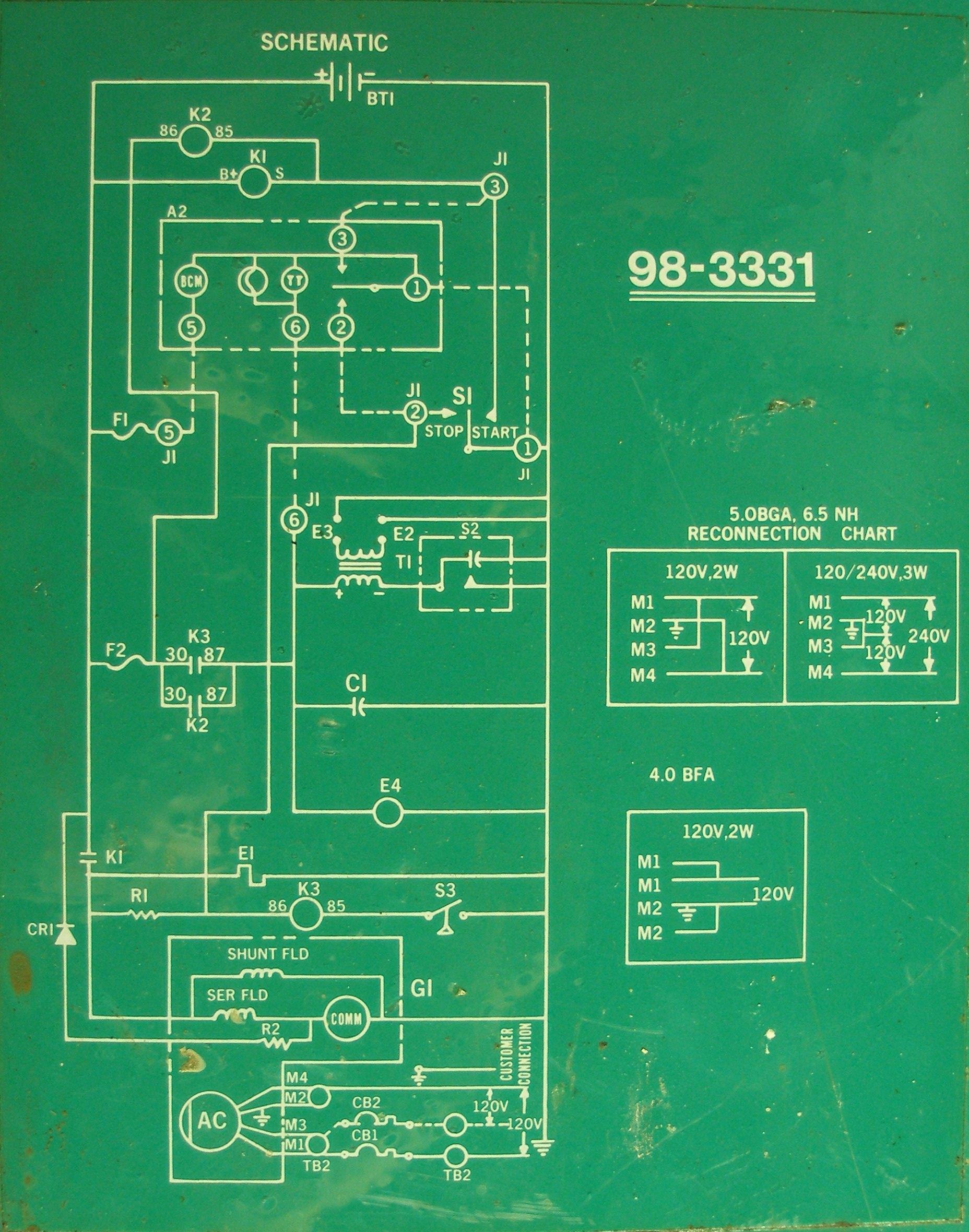 onan 4000 generator emerald 1 wiring diagram delco am radio wiring Onan Charging System Diagram  Onan Generator Engine Diagram Sears Wiring Diagram Detroit Wiring Diagram
