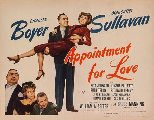 Appointment for Love (1941) poster
