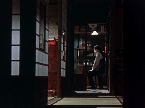 Chishû Ryû is the father being left alone in Sanma no aji (1962)