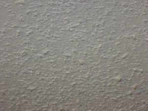 popcorn ceiling and asbestos