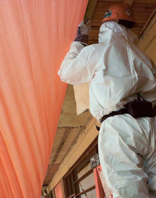 Asbestos Abatement Worker