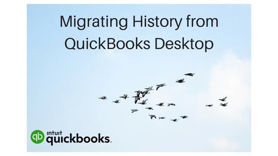 Migrating QuickBooks