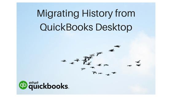 Tips for Migrating QuickBooks Desktop History for new software